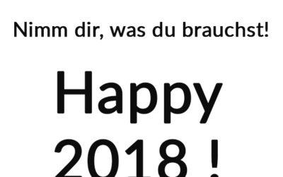 Gute Wünsche to go – mit unserem Abreisszettel für 2018