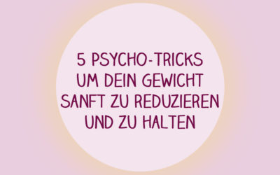 5 Psycho Tricks zum Abnehmen