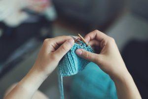 Socken stricken lernen