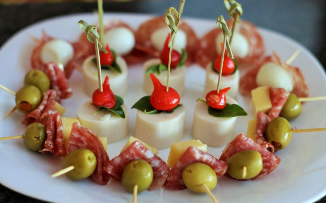 Fingerfood & Buffet Ideen für die Silvester-Party