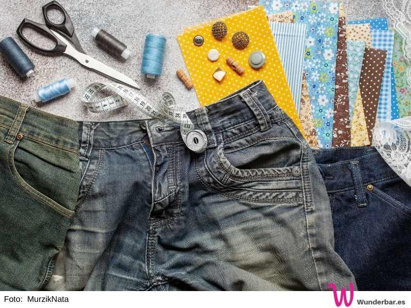 Neues Leben für alte Jeans