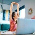 Home Office! Einfache Routinen, mit denen Du Körper und Seele gut tust.