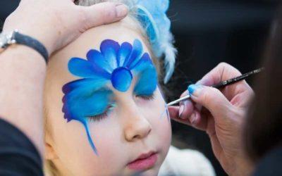 Kinderschminken. 27 Ideen und Tipps für Fasching und Geburtstagsparty.