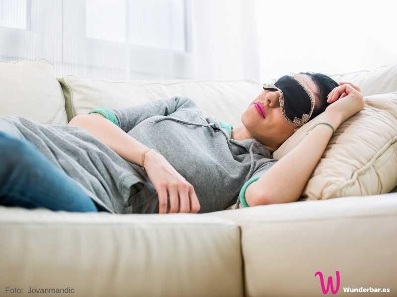 Schlechte Tage: ein zusätzliches Mützchen voll Schlaf kann manchmal ungeahnte Energiereserven freisetzen.