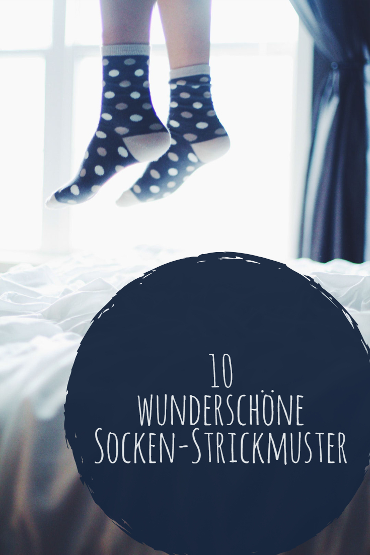 10 wunderschöne Sockenstrickmuster