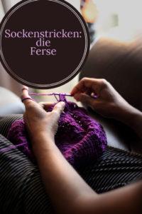 Socken stricken: die Ferse