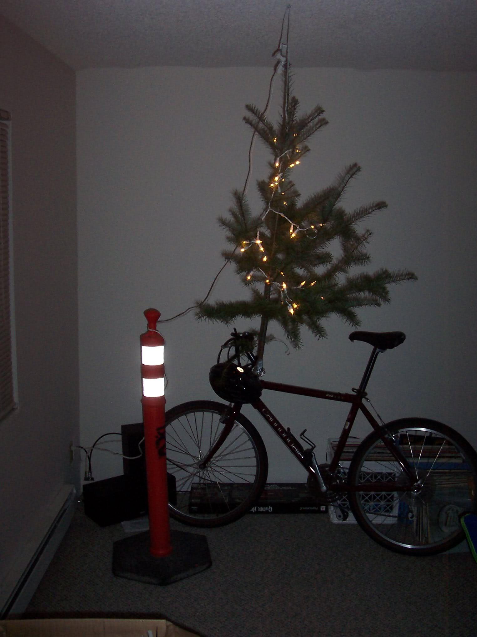 Weihnachten in der Garage